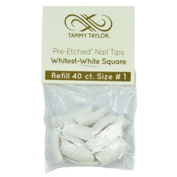 Tips Cut Out Square - Whitest White - size 1