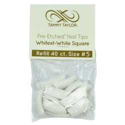 Tips Cut Out Square - Whitest White - size 5