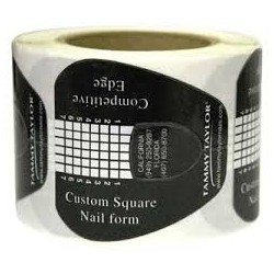 Competitive Edge Form Double Thick - Black Square 150 pc