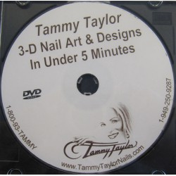 Tammy Taylor 3-D Nail Art & Design DVD