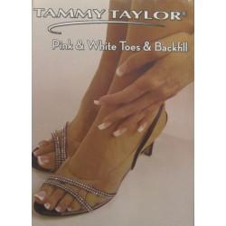 Pink & White Acrylic Toenails & Backfill DVD