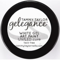 Gelegance Gel Art Paint ¼ oz - White