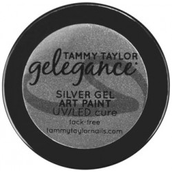 Gelegance Gel Art Paint ¼ oz - Silver