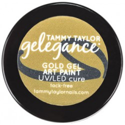 Gelegance Gel Art Paint ¼ oz - Gold