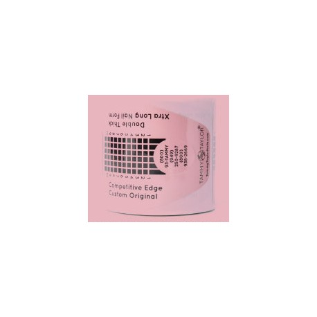 Competitive Edge Form Double Thick - Pink X-Long 150 pc