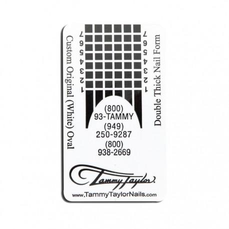 Custom Original Forms - White Oval 200 pc