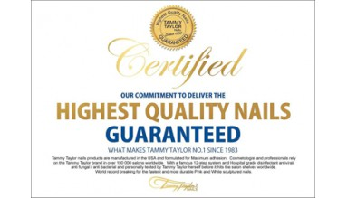 Tammy Taylor Certification